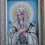 Богородица в голубом